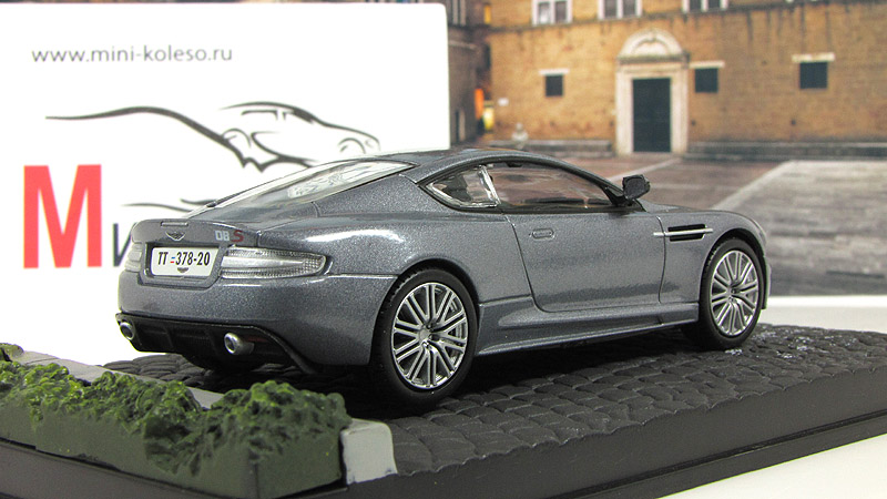 Diecast model aston martin dbs casino royale in metallic grey usa casino online no deposit