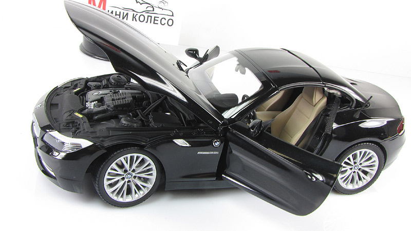 1:18 bmw z4 gt3 - 2012 - streetversion - matt black (151122304)