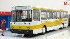 Автобус Ликинский-5256 городской, белый/желтый