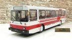 Автобус Ликинский-5256 городской, белый/красный
