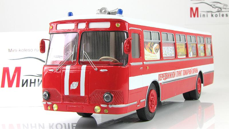 1:43 Автобус городской Ликинский-677 ПППО (Vector-models) Масштабная коллекционная модель