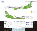 Декаль на самолет Boeing 737-800 One World (S7 Airlines new)
