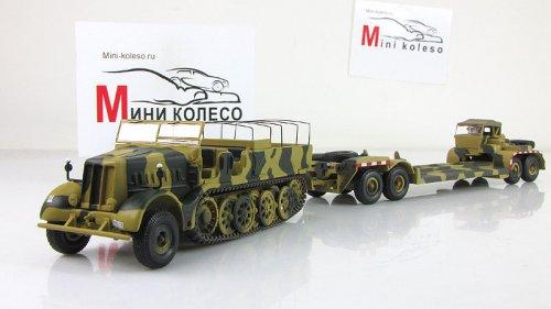 1 72 sdkfz 9 famo 18 tonnes rimorchio 432 for Porte char 60 tonnes