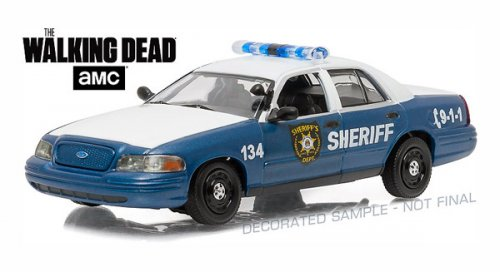 "FORD Crown Victoria Police Interceptor ""Rick and Shane's"" 2001 (из т/с ""Ходячие мертвецы"")"
