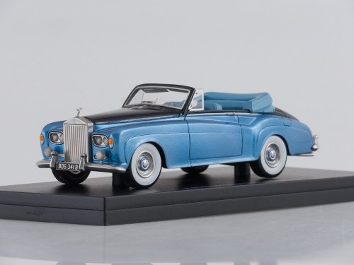 Rolls Royce Silver Cloud III DHC, metallic-light blue/metallic-dark blue, RHD, 1964