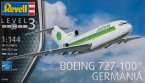 Пассажирский самолет Boeing 727-100 GERMANIA