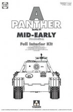 WWII German medium Tank Sd. Kfz 171 Panther a mid-early production