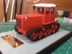 Т-75 трактор (красный, чистый)