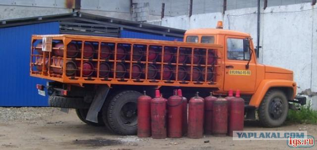 Перевозка кислородных баллонов автотранспортом штраф