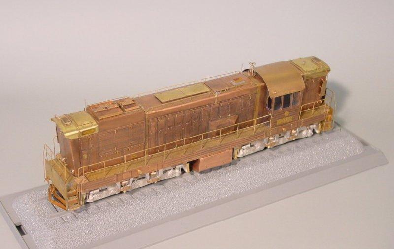 Модель локомотива своими руками